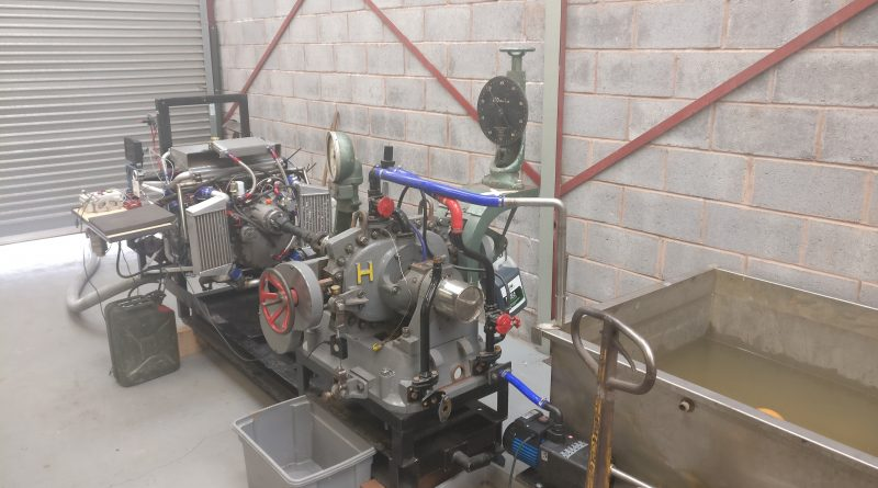 Installing the new Dynamometer at CKT Aero Engines